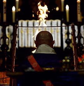 不動明王とお護摩祈祷